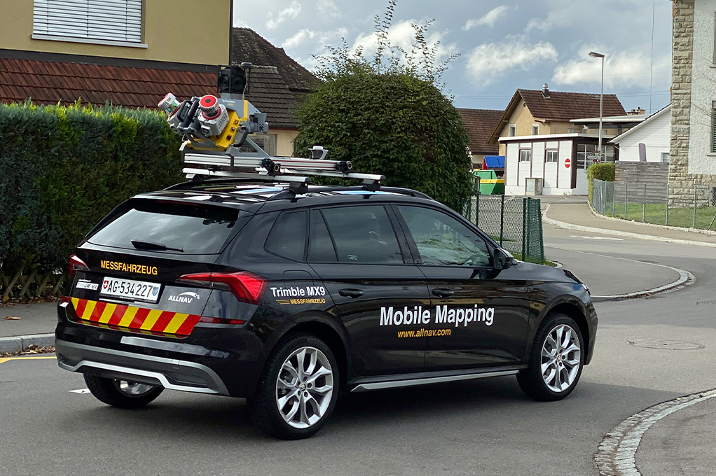 allnav Mobile Mapping MM Systeme
