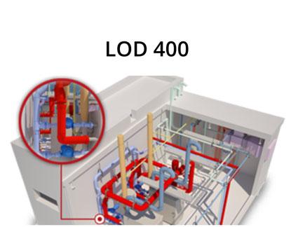 Allnav Laserscanning BIM Modellierung LOD 400