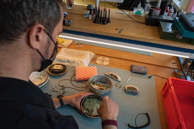 Allnav Werkstatt Aufsicht Reparatur